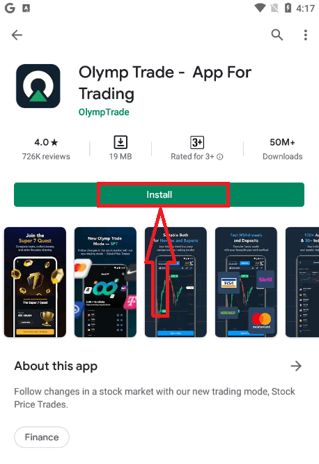 How to Login and start Trading at Olymp Trade