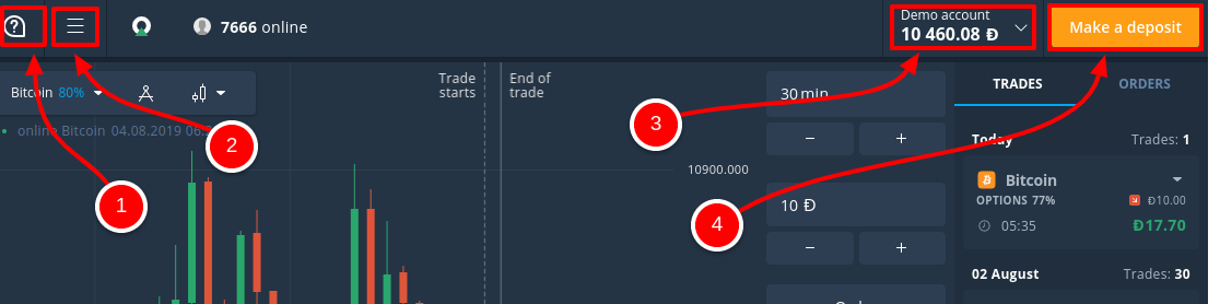 How to Register and Trade Binary Option at Olymp Trade